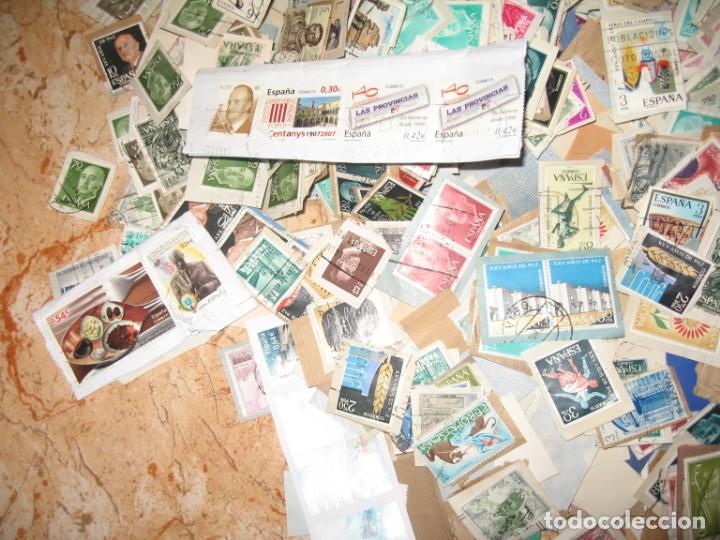 Sellos: CINCO MIL SELLOS DE ESPAÑA MATA-SELLADOS - Foto 6 - 167561464
