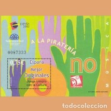 Sellos: NUEVO - EDIFIL 3949 - SPAIN 2002 MNH. Lote 277438213