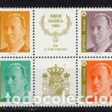 Sellos: ESPAÑA S.M. DON JUAN CARLOS I, EN PAREJA. 1993. MNH 3259A/62A EDIFIL. Lote 167849208