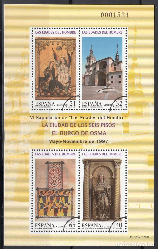 ESPAÑA, 1997 EDIFIL Nº 3494 /**/, ARCO DE CIRCUNFERENCIA IMPRESO EN EL ANGULO, *MUESTRA* (Sellos - España - Juan Carlos I - Desde 1.986 a 1.999 - Nuevos)