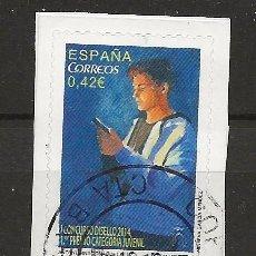 Sellos: R61/ ESPAÑA USADOS 2015, EDIFIL 4940, DISELLO. Lote 168148428