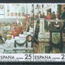 Sellos: R61/.BLOCK01/ ESPAÑA EN NUEVO** 1987, EDF. 2887/90, 175 ANIV. CONSTITUCION DE 1812. Lote 168595340