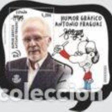 Sellos: HB** ESPAÑA 2019, ANTONIO FRAGUAS, EDIFIL 5324. Lote 168702840
