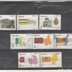Sellos: ESPAÑA 2010 - EDIFIL NRO. 4524-31 - AUTONOMIAS - USADOS - FOTO ESTANDAR. Lote 168711773