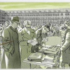 Sellos: FÁBRICA NACIONAL DE MONEDA Y TIMBRE - 50º ANIVERSARIO DEL MERCADO FILATÉLICO PLAZA MAYOR (MADRID). Lote 168877308
