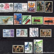 Sellos: SERIES COMPLETAS USADAS DE ESPAÑA - AÑO 1982 (LOTE 2). Lote 168890848