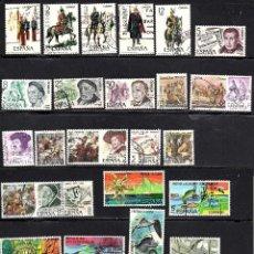 Sellos: SERIES COMPLETAS USADAS DE ESPAÑA - AÑO 1978 (LOTE 1). Lote 168891080