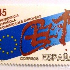 Sellos: SELLOS ESPAÑA 1989. EDIFIL 3010. NUEVO. PRESIDENCIA COMUNIDADES EUROPEAS.. Lote 168933740