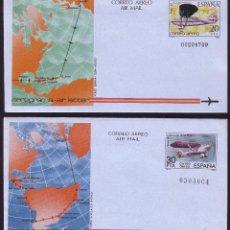 Sellos: AEROGRAMA AÑO 1982 Nº 203/204 - NUEVO. Lote 168991521