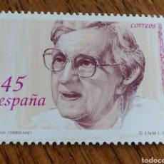 Sellos: ESPAÑA : N°3241 MNH, MARIA ZAMBRANO. Lote 194509781