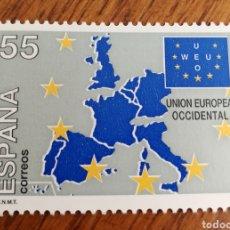 Sellos: ESPAÑA : N°3324 MNH UNIÓN EUROPEA OCCIDENTAL 1994. Lote 194510078