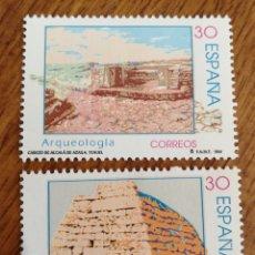 Sellos: ESPAÑA : N°3448/49 MNH, ARQUEOLOGÍA 1996. Lote 220066645