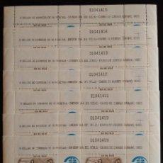 Sellos: SELLOS 1983 - DIA DEL SELLO - 7 MINIPLIEGOS NUMEROS CONSECUTIVOS - 2719. Lote 169345032