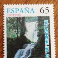 Sellos: ESPAÑA : N°3474 MNH, DÍA MUNDIAL DEL AGUA 1997. Lote 194509886