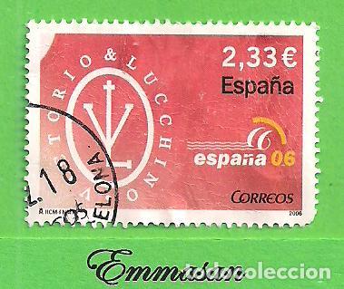 EDIFIL 4268 H.B. EXP. MUNDIAL DE FILATELIA ESPAÑA 06 - LA MODA. (2006). (Sellos - España - Juan Carlos I - Desde 2.000 - Usados)
