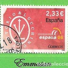 Timbres: EDIFIL 4268 H.B. EXP. MUNDIAL DE FILATELIA ESPAÑA 06 - LA MODA. (2006).. Lote 169428504