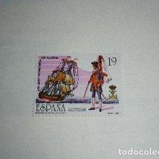 Sellos: ESPAÑA EDIFIL 2885*** - AÑO 1987 - 450º ANIVERSARIO DEL CUERPO DE INFANTERIA DE MARINA. Lote 169441380