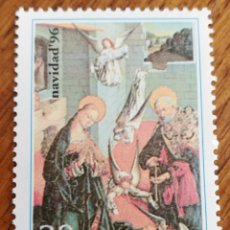 Sellos: ESPAÑA : N°3458 MNH, NAVIDAD 1996. Lote 215178043