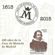 Sellos: ESPAÑA 2015. CASA MONEDA MADRID. EDIFIL Nº 4975. A FACIAL ¡¡¡. Lote 169940564