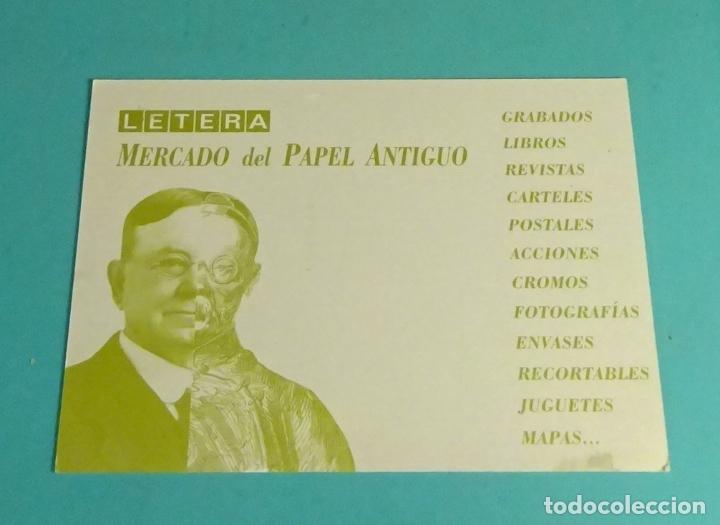 Sellos: FRANQUEO MECÁNICO Nº 27959 MADRID 2004. LETERA MERCADO DEL PAPEL ANTIGUO - Foto 2 - 170015032