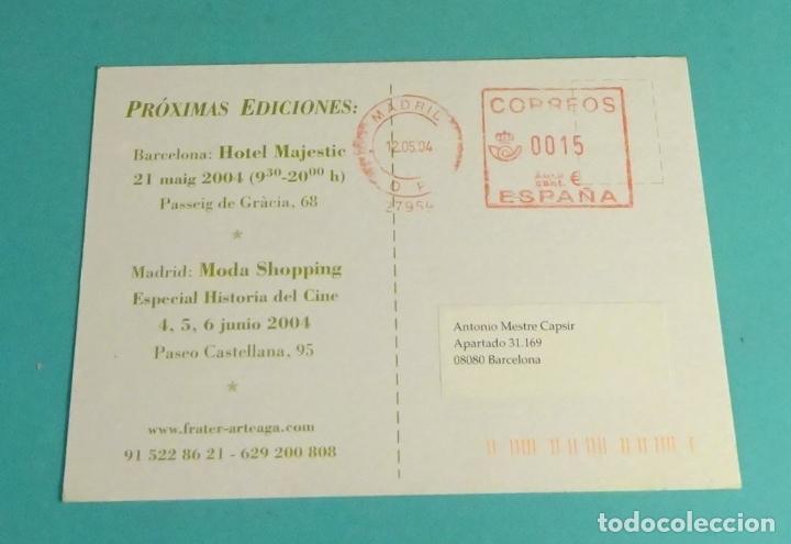 FRANQUEO MECÁNICO Nº 27959 MADRID 2004. LETERA MERCADO DEL PAPEL ANTIGUO (Sellos - España - Juan Carlos I - Desde 2.000 - Cartas)