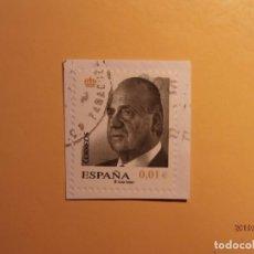 Sellos: ESPAÑA 2008 - SERIE BÁSICA - JUAN CARLOS I, 0,01 € .. Lote 170351748