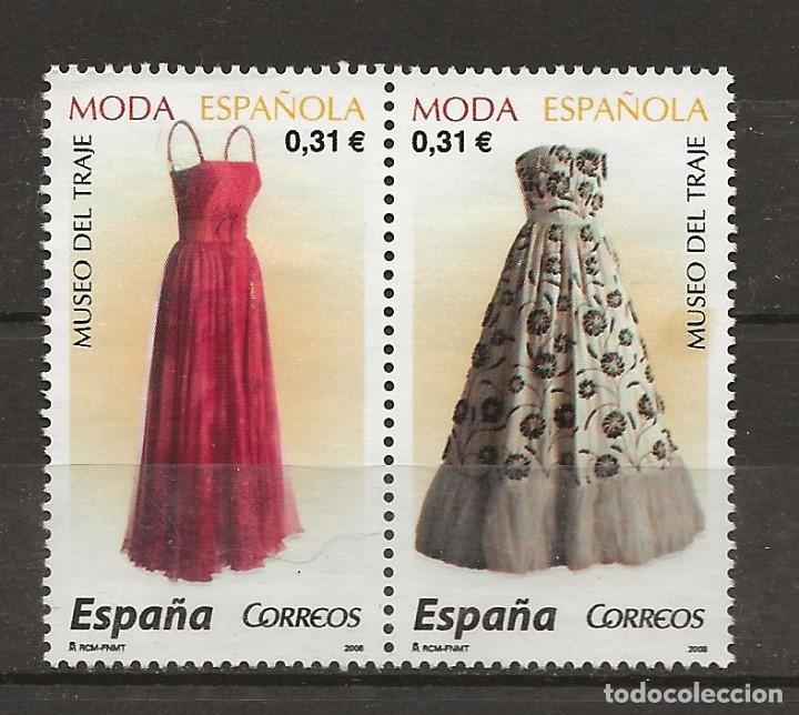 R61/ ESPAÑA USADOS 2008, MODA ESPAÑOLA (Sellos - España - Juan Carlos I - Desde 2.000 - Usados)