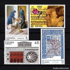Sellos: ESPAÑA 1990 - EDIFIL 3069/3072 - MNH** NUEVOS SIN FIJASELLOS - SERIE COMPLETA - CENTENARIOS. Lote 170857405