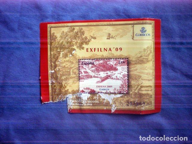 SELLO NUEVO EXFILNA 09 2009 2,47€ EXPOSICION FILATELICA IRUN 295969 (Sellos - España - Juan Carlos I - Desde 2.000 - Nuevos)