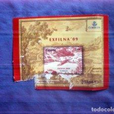 Sellos: SELLO NUEVO EXFILNA 09 2009 2,47€ EXPOSICION FILATELICA IRUN 295969. Lote 170967409
