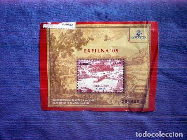 SELLO NUEVO EXFILNA 09 2009 2,47€ EXPOSICION FILATELICA IRUN 295965 (Sellos - España - Juan Carlos I - Desde 2.000 - Nuevos)