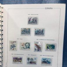 Sellos: ALBUM EDIFIL ESPAÑA SELLOS AÑO 1971 A 1980 NUEVOS VER FOTOS 32X32CMS. Lote 171199917