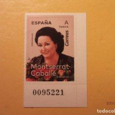 Sellos: ESPAÑA 2019 - PERSONAJES - MONTSERRAT CABALLÉ - MÚSICA, CANCIÓN LÍRICA.. Lote 171365744