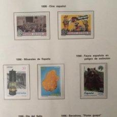 Sellos: 1996-ESPAÑA AÑO COMPLETO NUEVO SIN FIJASELLOS EDIFIL 3406/3464 MNH**(INCLUYE DOS HB) VC: 119,70 €. Lote 171442173