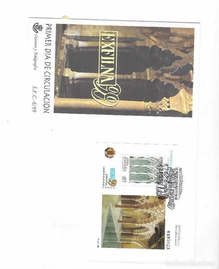 ESPAÑA SOBRE PRIMER DIA Nº 3625 (**) (Sellos - España - Juan Carlos I - Desde 1.986 a 1.999 - Cartas)