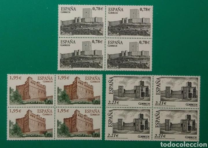 2005. BLOQUE DE 4. CASTILLOS. ED. 4170/4172**. (Sellos - España - Juan Carlos I - Desde 2.000 - Nuevos)