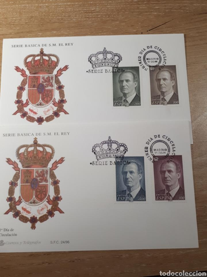 SOBRE DEL PRIMER DIA EDIFIL 3461/64 AÑO 1996 LOTE N. 726 (Sellos - España - Juan Carlos I - Desde 1.986 a 1.999 - Cartas)