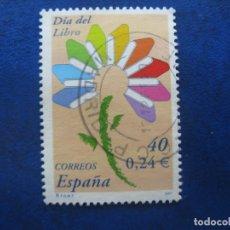 Selos: 2001 DIA DEL LIBRO, EDIFIL 3789. Lote 172058568