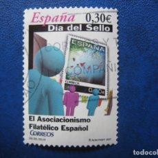 Sellos: 2007 DIA DEL SELLO, EDIFIL 4330. Lote 172107270