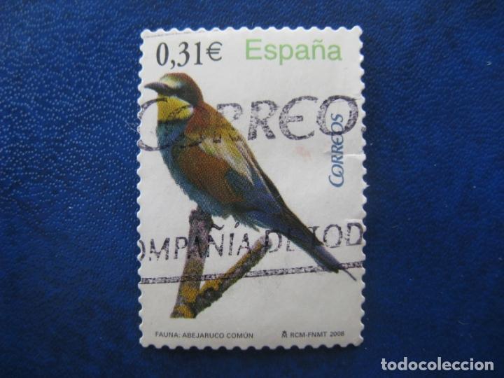 2008 FLORA Y FAUNA, EDIFIL 4378 (Sellos - España - Juan Carlos I - Desde 2.000 - Usados)