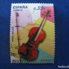 Sellos: 2011 INSTRUMENTOS MUSICALES, VIOLIN, EDIFIL 4629. Lote 172167042