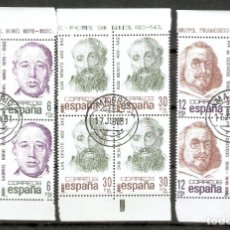 Sellos: ESPAÑA. 1981. EDIFIL 2618/2620. FIJASELLOS. Lote 172389048