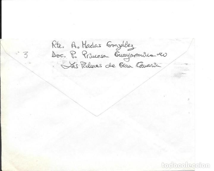 Sellos: FRAUDE AL CORREO. SOBRE CIRCULADO CON INSUFICIENCIA DE FRANQUEO. 1982 - Foto 2 - 172391254