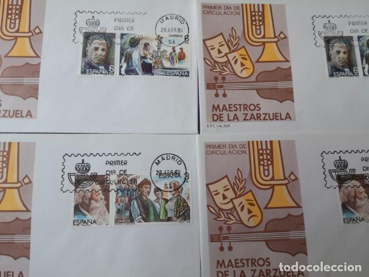 Sellos: Carta postal maestro de la zarzuela y mas - Foto 3 - 172399738