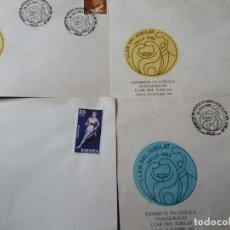 Sellos: CARTA POSTAL S. C LLARS DEL JUBILANT 1982. Lote 172400233
