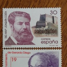 Sellos: ESPAÑA : N°3445/47MNH,EFEMÉRIDES 1996. Lote 226668250