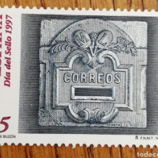 Sellos: ESPAÑA : N°3471 MNH, DÍA DEL SELLO 1997. Lote 254066990