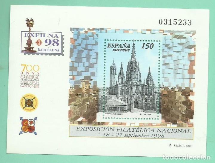 HOJA BLOQUE 1998. EXFILNA 98 (Sellos - España - Juan Carlos I - Desde 2.000 - Nuevos)