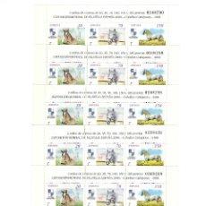 Sellos: ESPAÑA.AÑO 1998.EXPOSICIÓN MUNDIAL DE FILATELIA.ESPAÑA 2000./10 MINIPLIEGOS. Lote 172914850