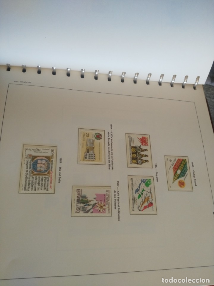 Sellos: album de sellos desde el año 1977 a 1987 - sellos nuevos - Foto 18 - 173207645